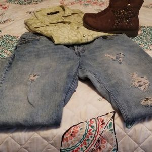 Pre owned levi jeans